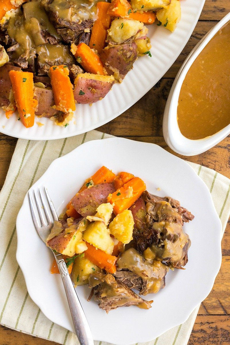 Instant-Pot-Old-Fashioned-Pot-Roast-7