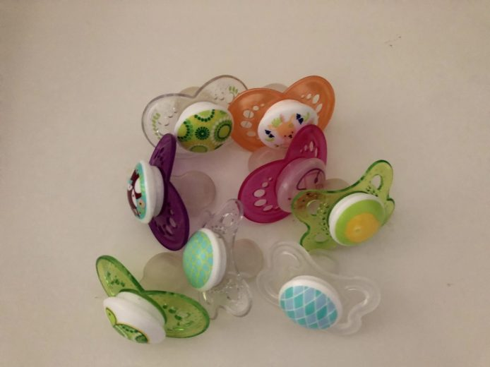 My toddler had a MAJOR pacifier addiction. I had to figure out the best way to get rid of a pacifier, and I did! We got rid of a pacifier in just 3 days!