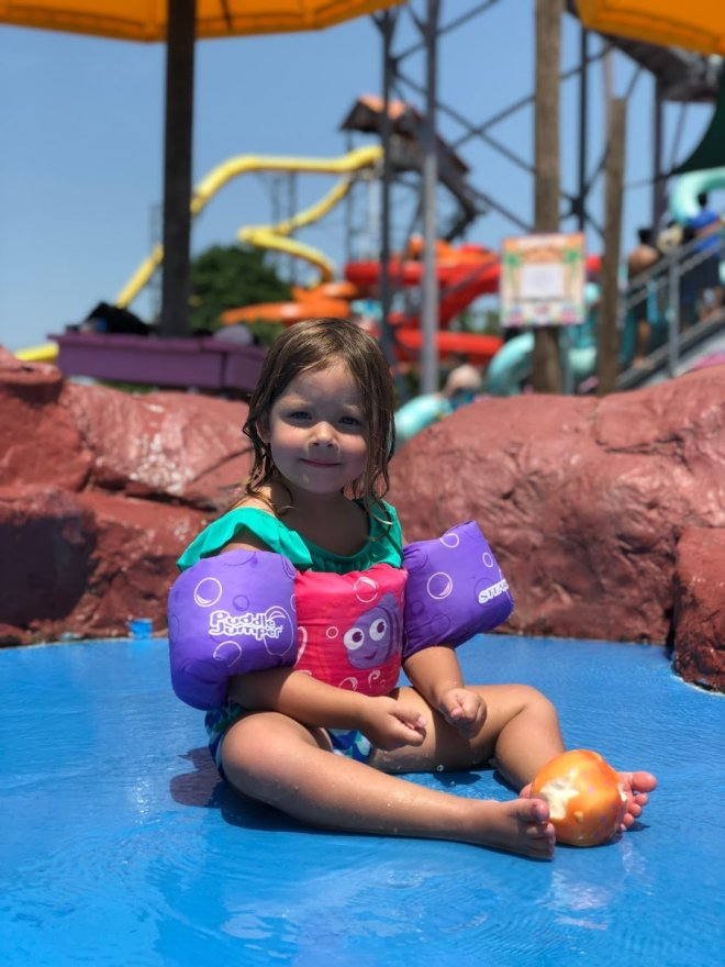My biggest fear is our kids getting lost, especially in public... Well, you can imagine my panic when we lost our daughter at the waterpark.