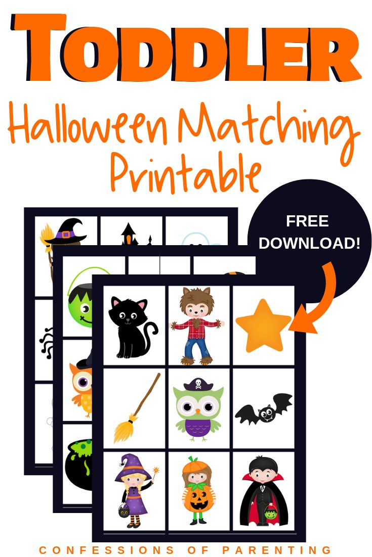It important for our kids to playindependently, that is why I love this Free Halloween Matching Game for kids. It encourages them to play on their own and with others. Download yours for free today!