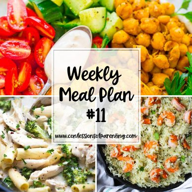 We are always looking for good food that is kid friendly! This weekly meal plan for active moms is just that. Plus, it takes the guess work out of dinner!