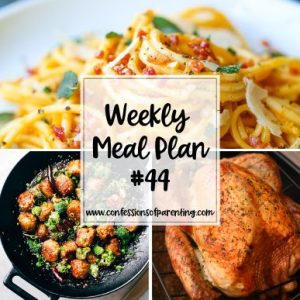 Who wants life to be as easy as sailing with a strong breeze? Our smooth sailing weekly meal plan for families can help put the wind back in your sails!