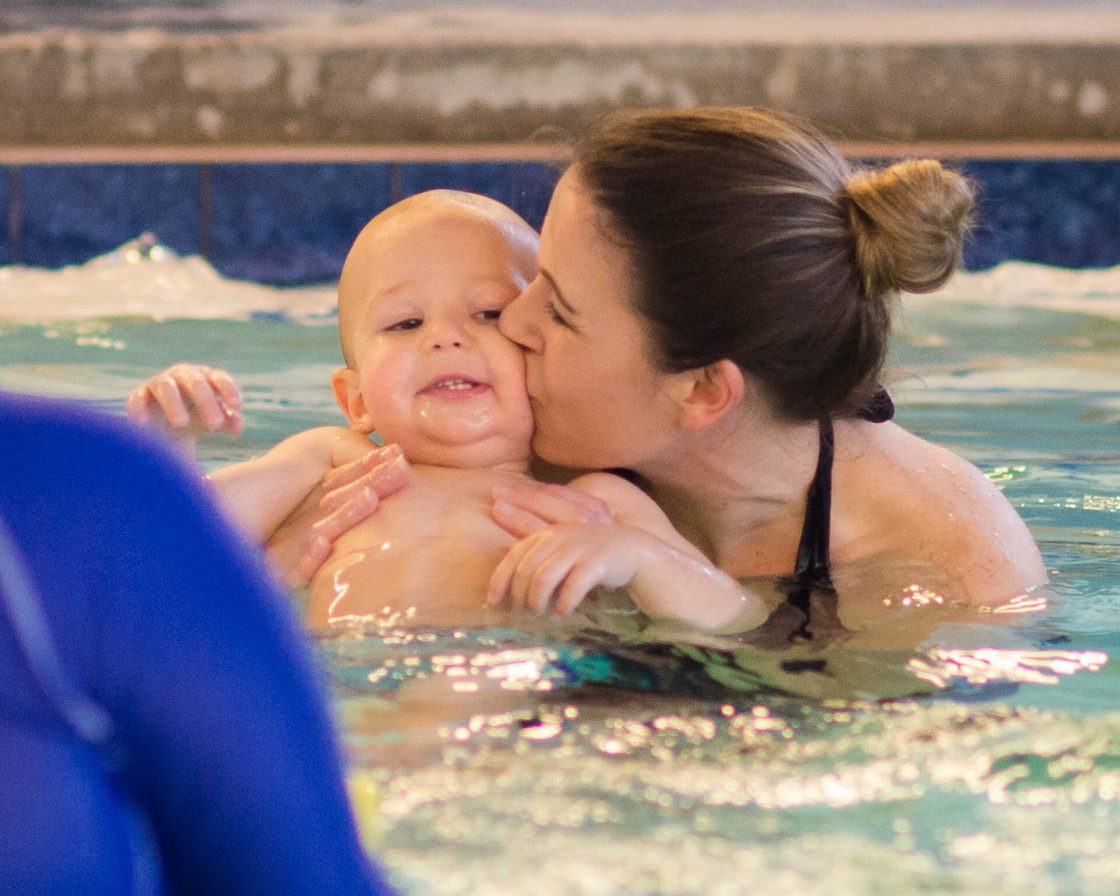 We have a crazy little toddler boy, but let me tell you how swim lessons changed our toddler and not in some crazy way! Enrolling Tony in swim lessons was the best thing we could have ever done and here's why!