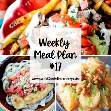 With all of the errands mom have to worry about, dinner can be on the back burner. This weekly meal plan for the mom on the go is here to simplify your life!