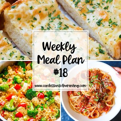 Do you only find complicated recipes that are time consuming? This weekly meal plan with straightforward recipes for families is your perfect solution!