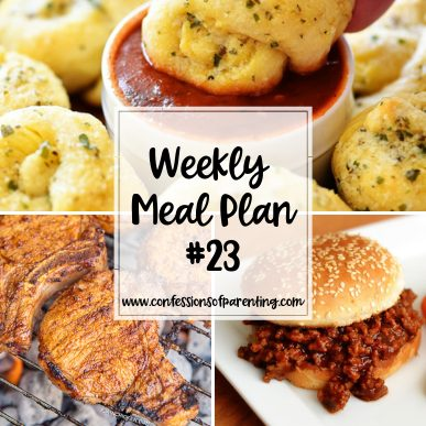 Our lives as moms can be hectic! Let us help relieve you one of your to-dos with our weekly meal plan for on the move moms! Make dinner time easy!