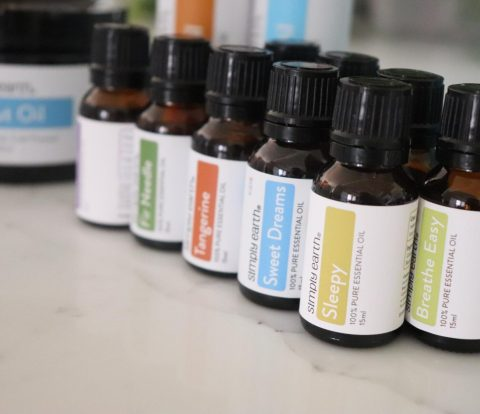 Simple Earth Essential Oils Recipe Box