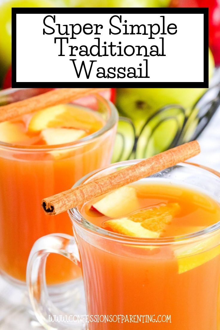 Are you looking for a super simple traditional Wassail recipe or mulled cider? Well, look no further this recipe is delicious and simple that the whole family will enjoy!