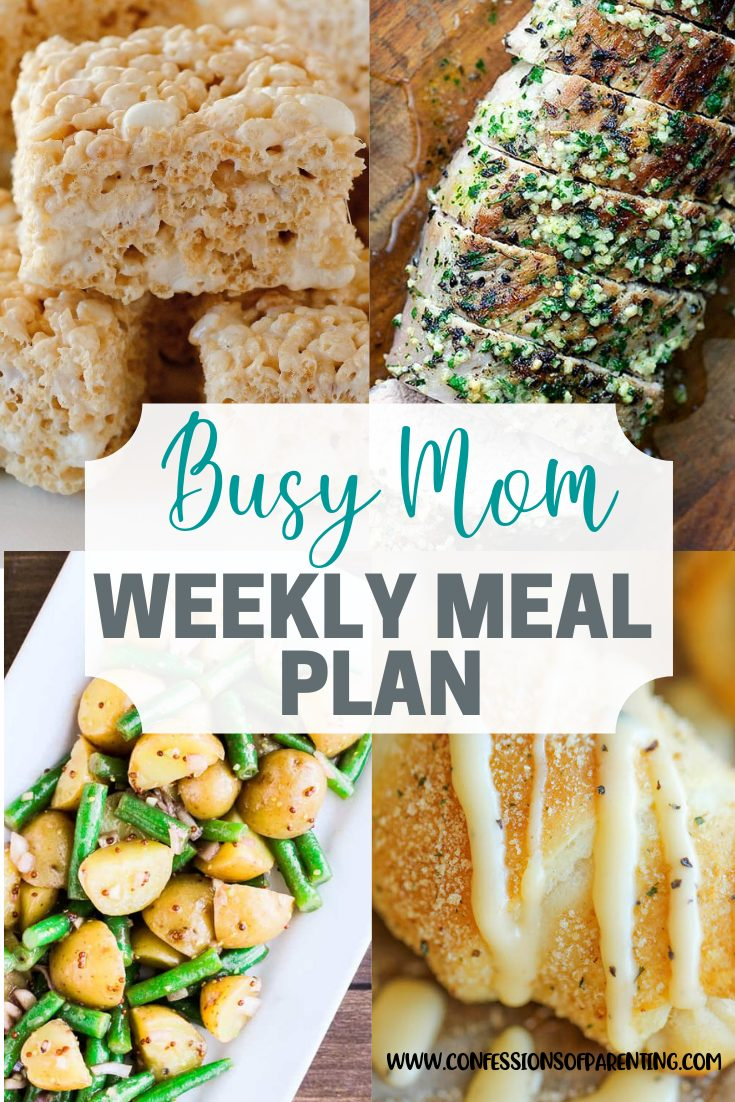 So many things during the day can be trouble. Don't let dinner be one of them! Use our untroublesome weekly meal plan for families to help you out!