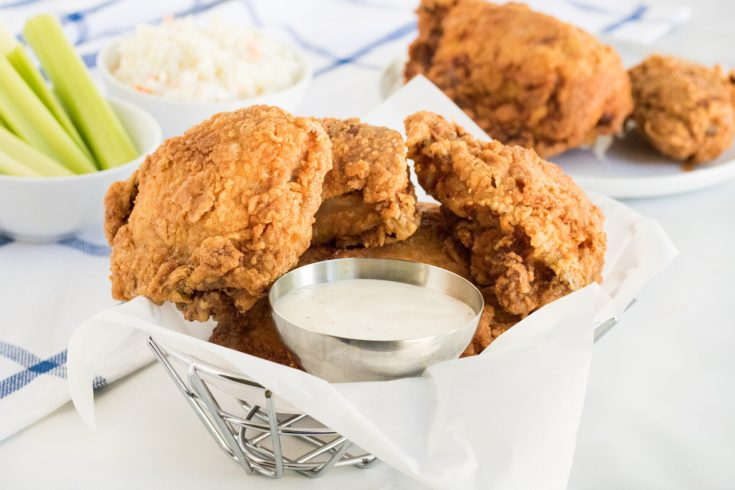 The Crispiest Southern Fried Chicken