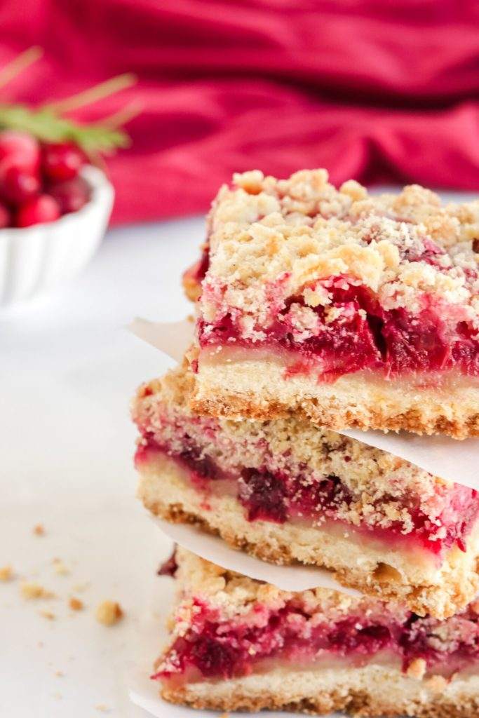 Fresh cranberry bars are exactly what your sweet tooth is looking for. These cranberry bars are bursting with flavor to satisfy any craving throughout the year.