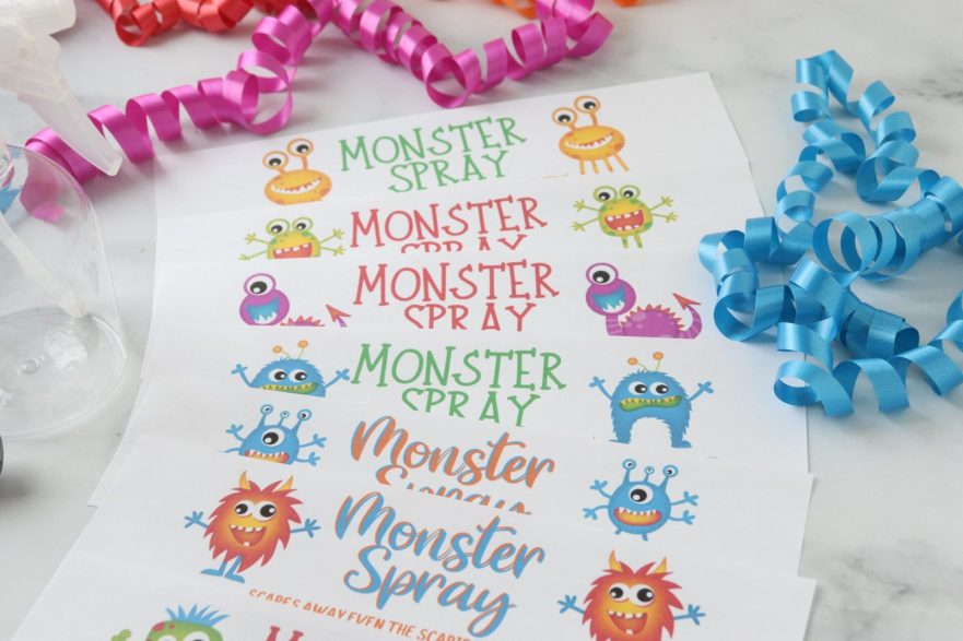 Helping your child overcome being afraid of the dark can be as simple as these 5 steps, plus don't forget to make monster spray to help scare away the monsters!