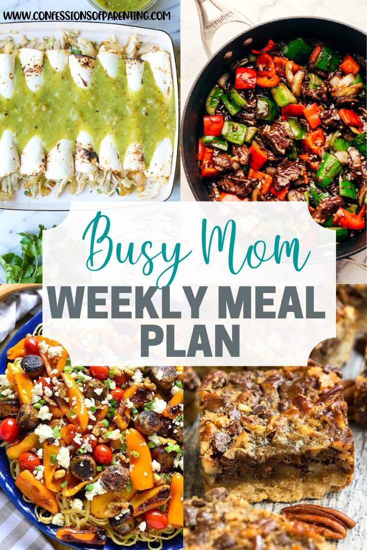 Wouldn't it be great to have a genie who made dinner with a snap of your fingers? Well you can feel that way with the just a snap weekly meal plan for families!
