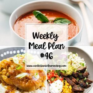 No one wants to cook difficult recipes for dinner. Try our feasible weekly meal plan for families for something easy, delicious, and kid friendly!