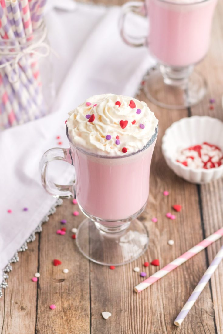 Super Simple Pink Hot Chocolate