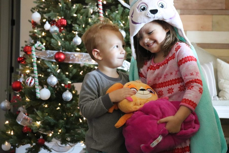 Are you looking for the perfect Christmas gift for kids? Comfy Critters® are the best because they are so adorable and versatile! Check out all the fun designs and why my kids have them at the top of their wishlist!!