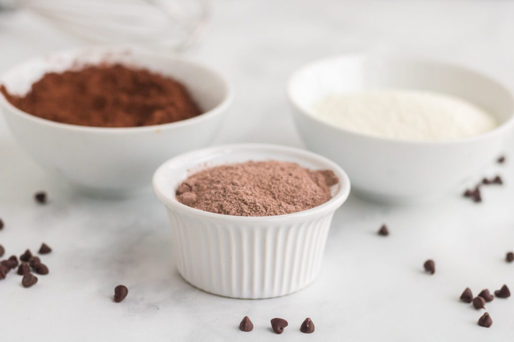 ingredients for homemade hot cocoa mix