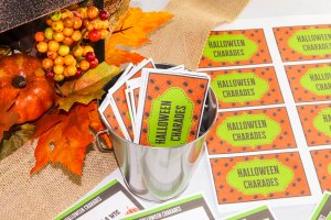 Are you looking for a new Halloween game for your family? Halloween charades is the perfect game for the whole family or your next Halloween party!