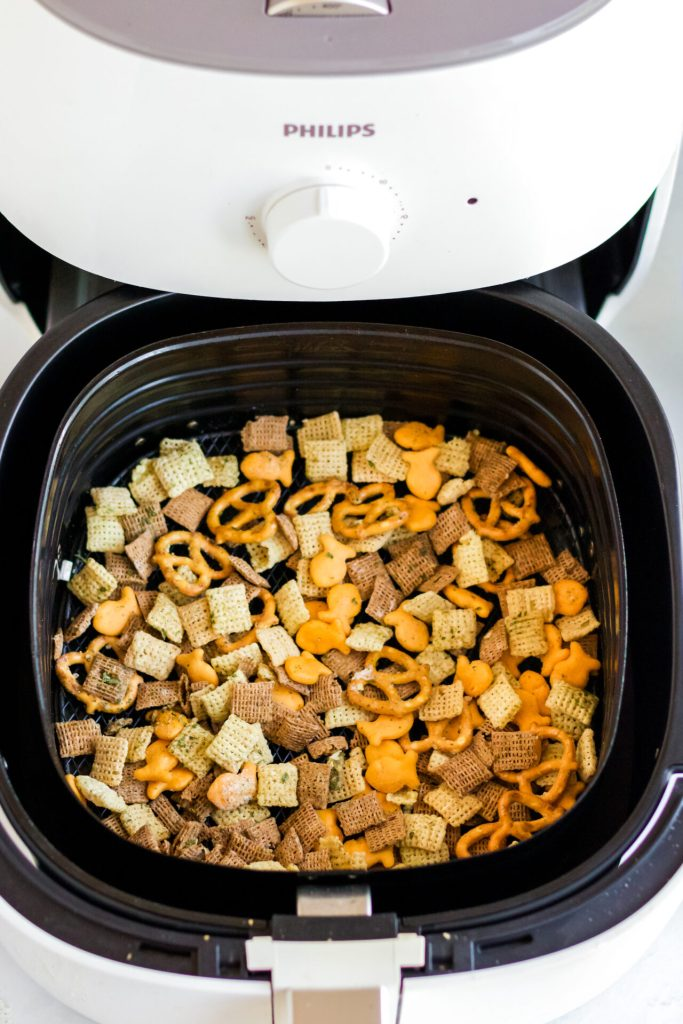 air fryer snack mix in the air fryer