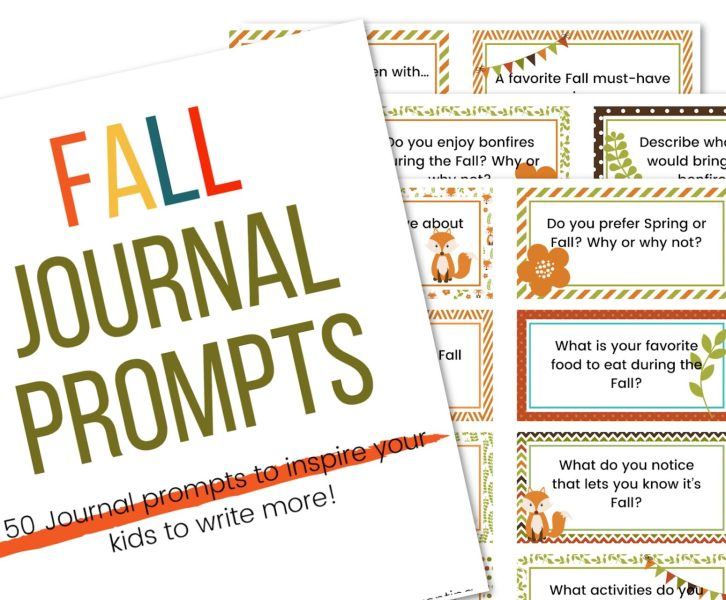 Picture of fall writing prompts printables