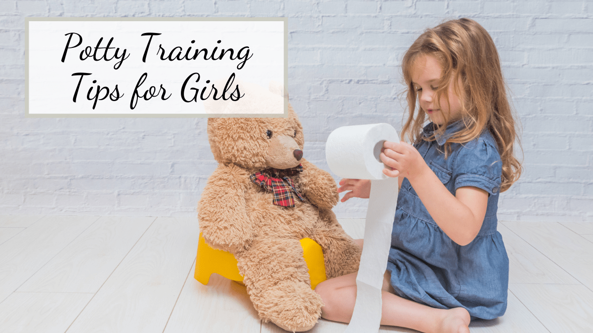 tips to help parents know how to potty train a girl