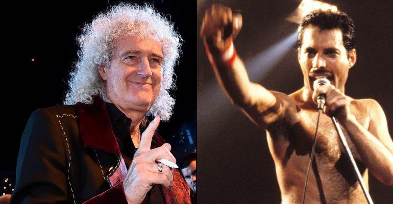 Brian May réédite Back to the light ! :
