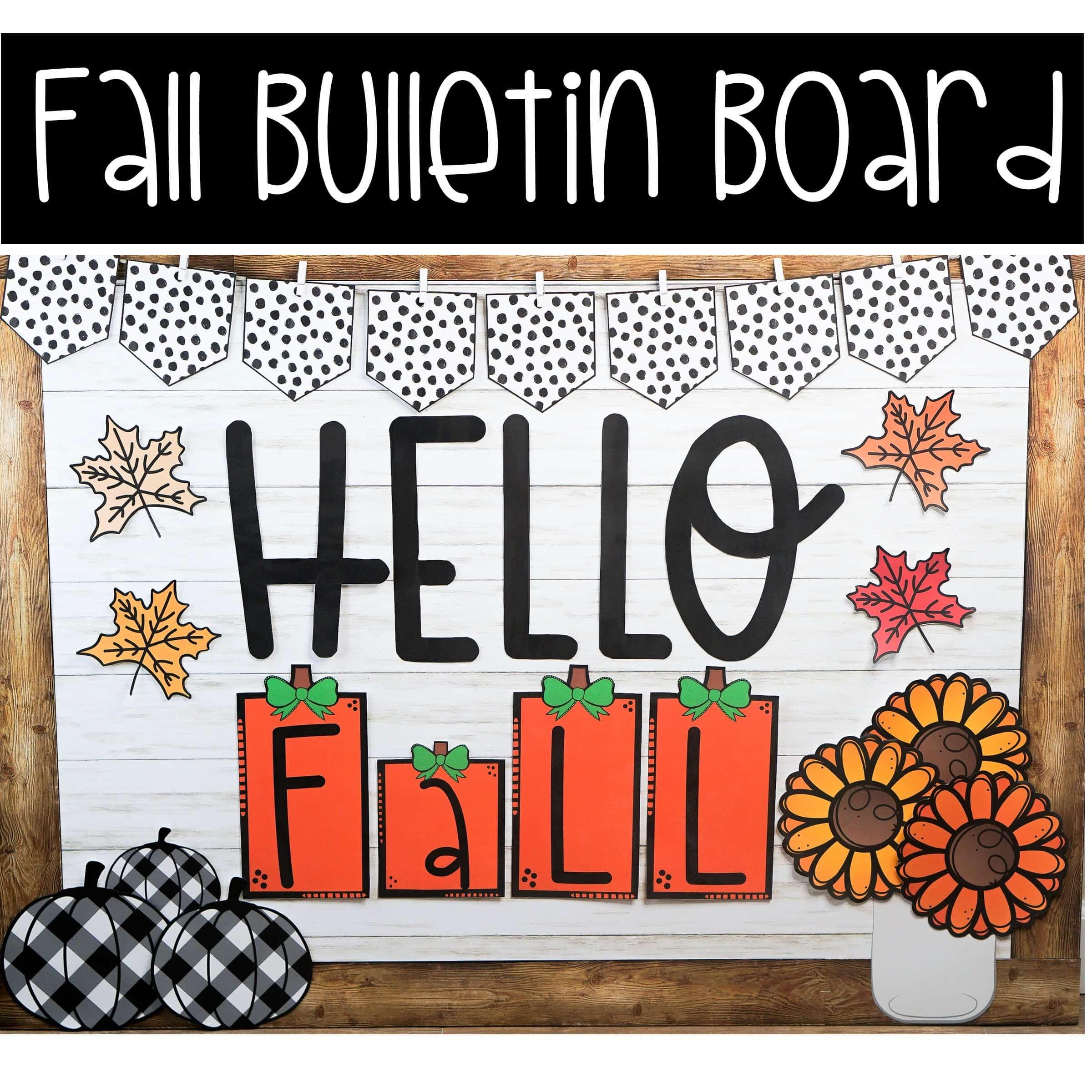 Fall Bulletin Board Ideas Confetti And Creativity