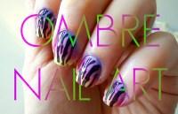 ombre nail art design tutorial ombre nail art design ...