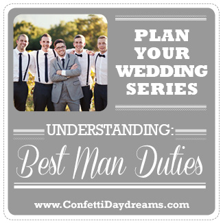 best man duties wedding