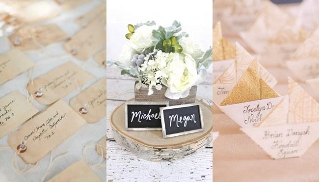 Unique Wedding Escort Card Amp Place Card Ideas