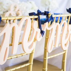 Wedding Chair Covers For Bride And Groom White Outdoor 10 Adorable Signs Decor 1