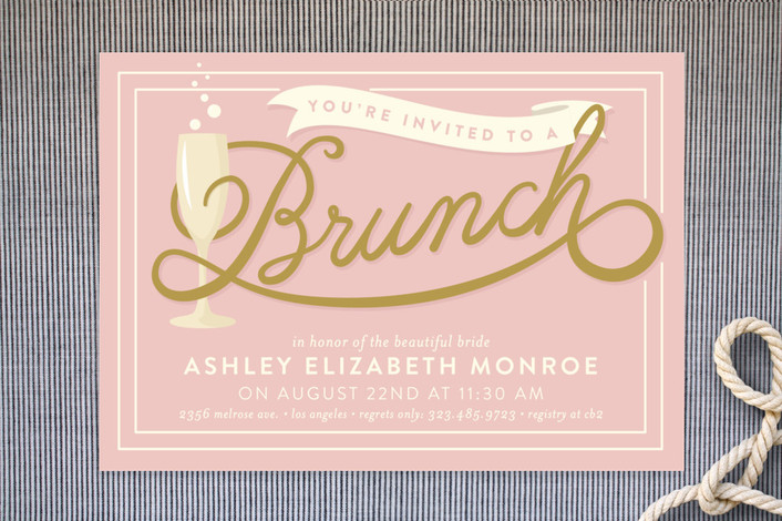 23 Bridal Shower Invitation Ideas That You're Going To Love