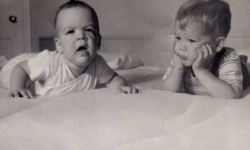 Picture of J.P.J. Fox and brother Russ - 1959