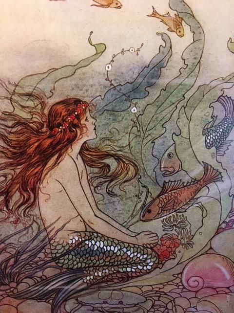 The Mermaid - Artist: Elenore Plaisted Abbott