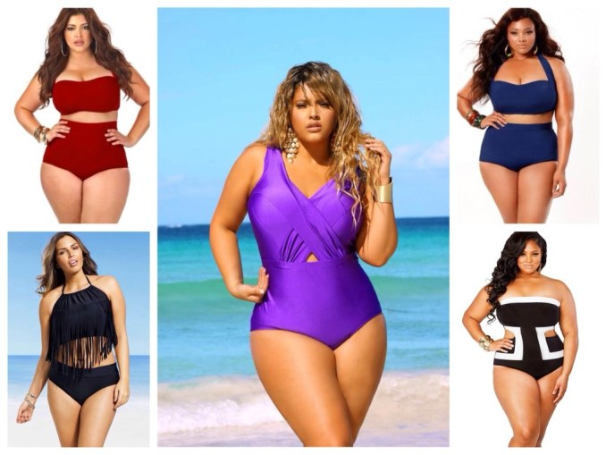 Swimsuit options for full