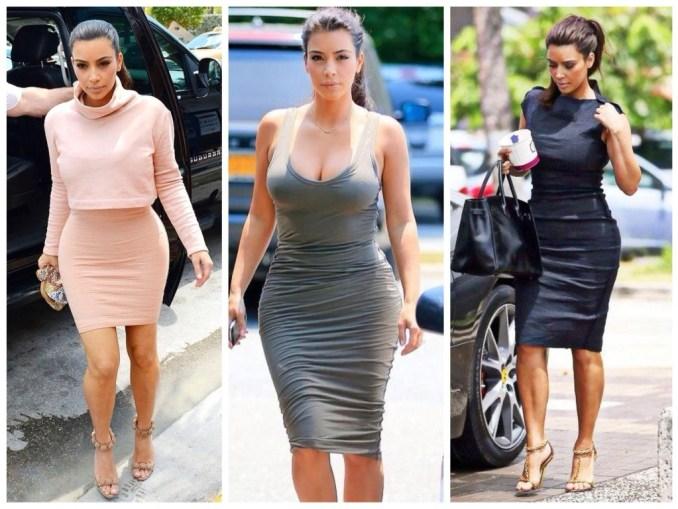 Kim Kardashian bows