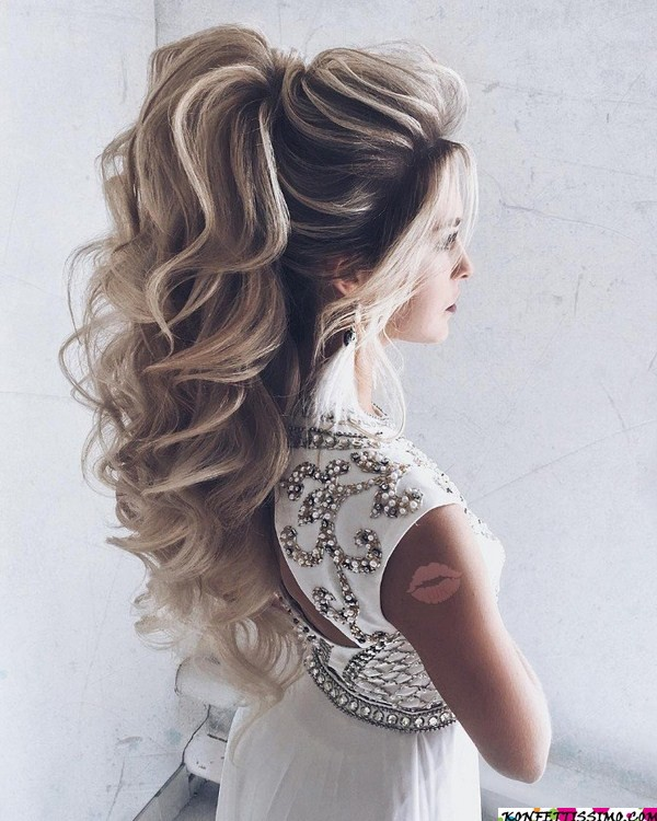 Amazing hairstyle options for the evening 7