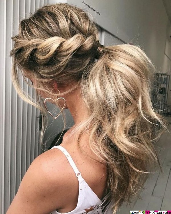 Amazing hairstyle options for the evening 19