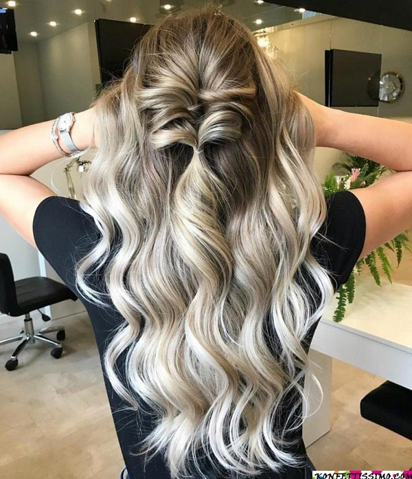Amazing hairstyle options for the evening 21