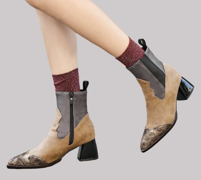 Fashionable warm and stylish winter shoes 2020 and 58 photos 26