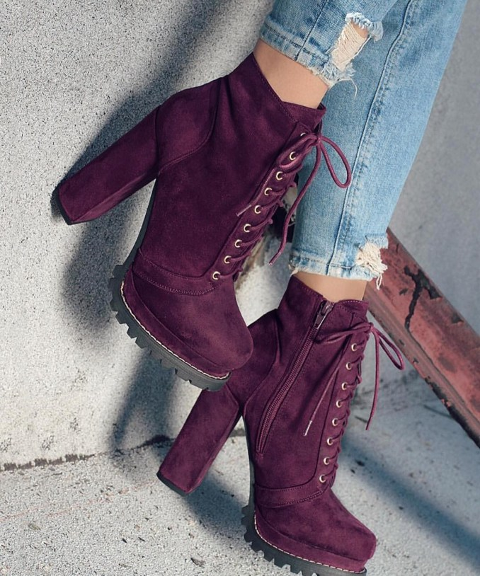 Fashionable warm and stylish winter shoes 2020 and 58 photos 39
