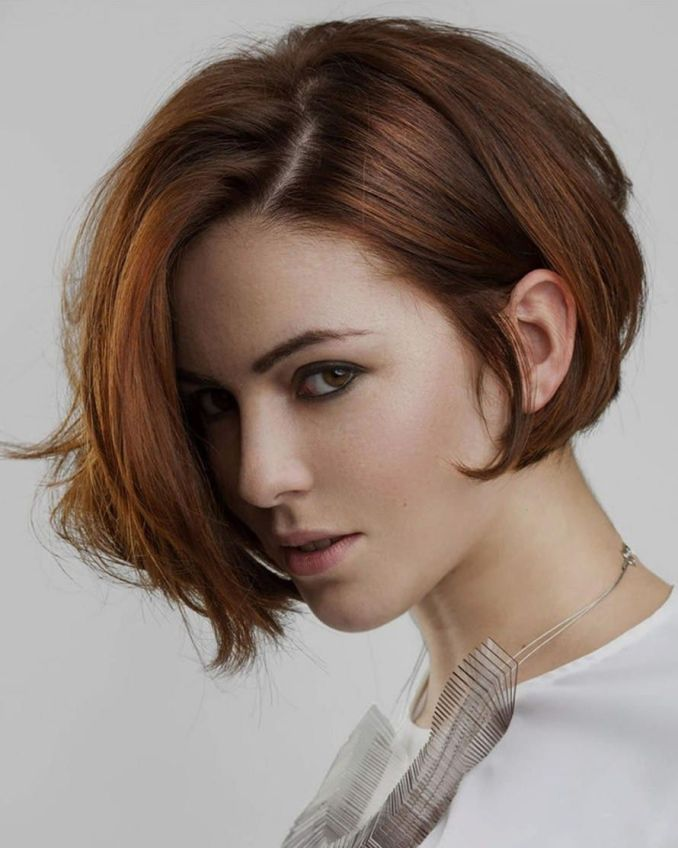 Trendy haircuts and hairstyles for short hair 2020 - 82 photos 25