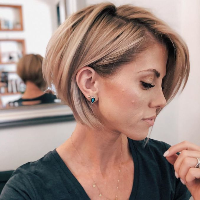 Trendy haircuts and hairstyles for short hair 2020 - 82 photos 33