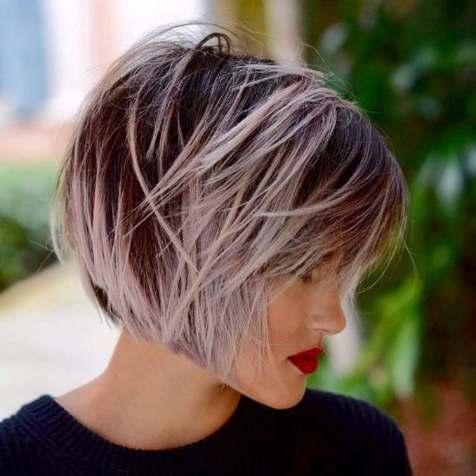 Trendy haircuts and hairstyles for short hair 2020 - 82 photos 34