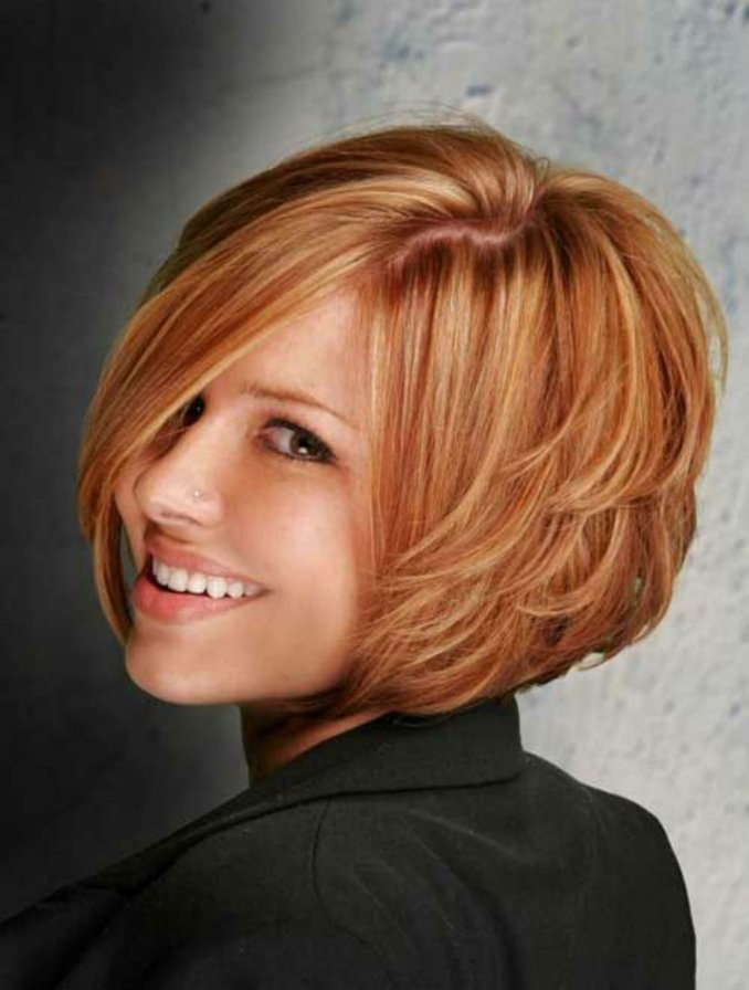 Trendy haircuts and hairstyles for short hair 2020 - 82 photos 36