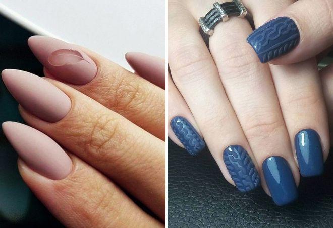 Manicure monochrome