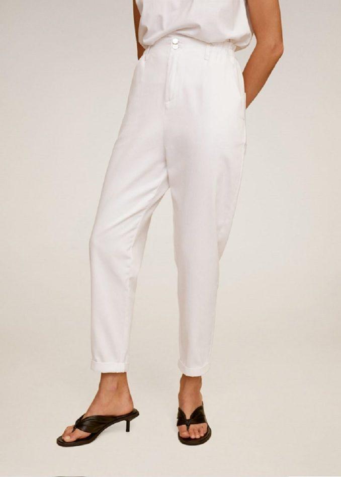 Mango, slouchy jeans with elastic waist 3 299 rub.