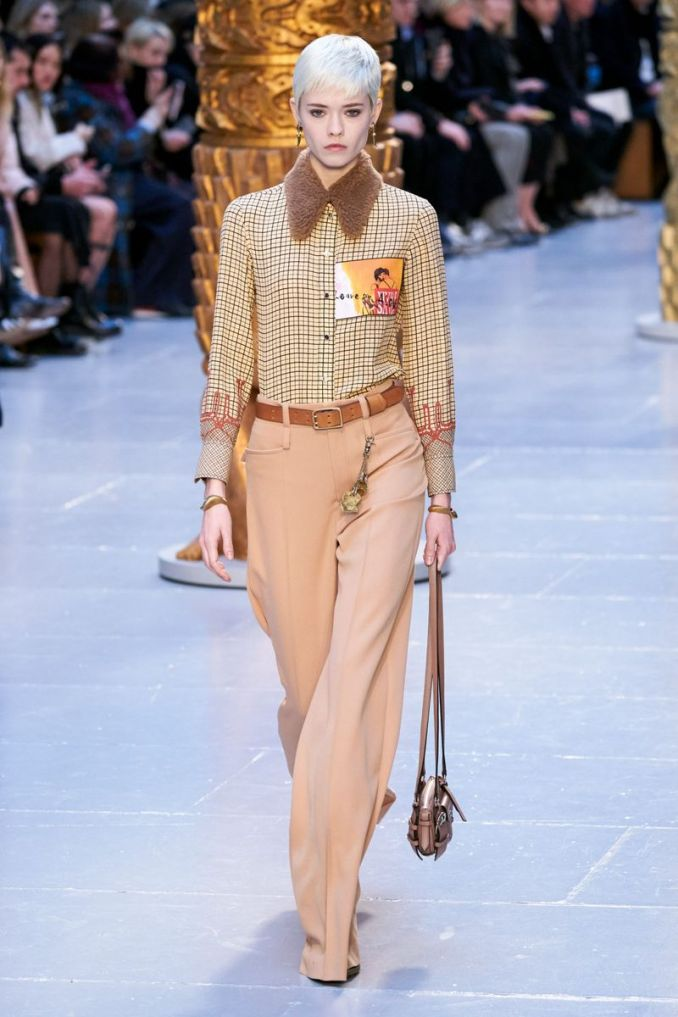 Fashion trousers from the fall-winter collection 2020-2021 Chloé