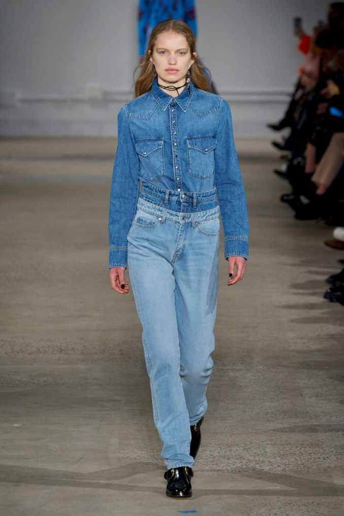 Fashion jeans fall-winter 2020-2021 from the collection Zadig & Voltaire