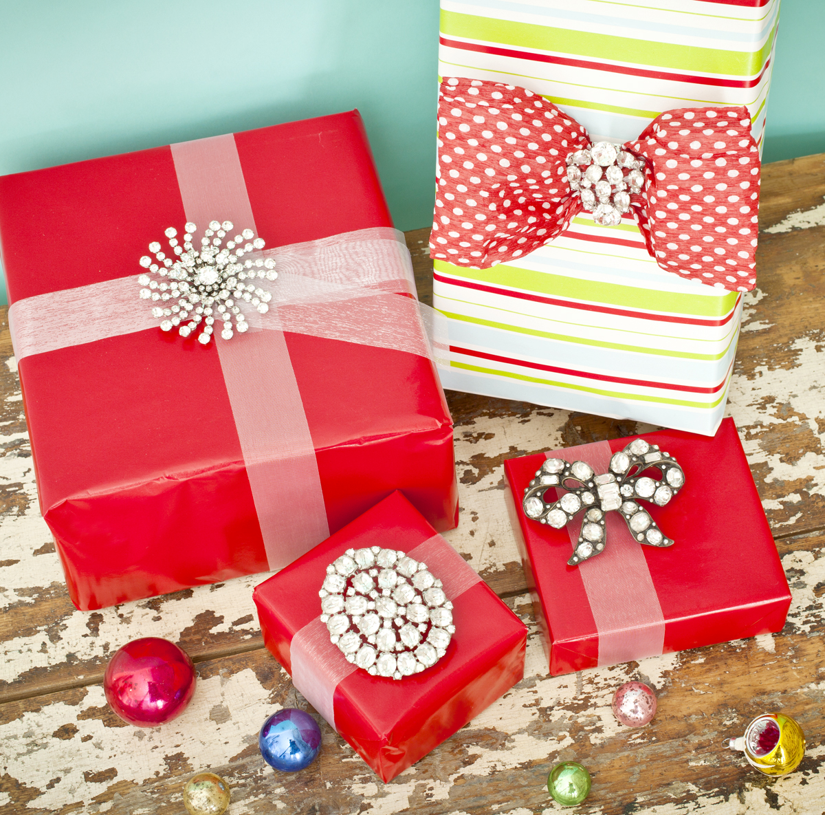 Holiday Decor Gift Ideas Pottery Barn Edition All My: Gift Wrap Bling